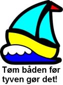 Tøm båden