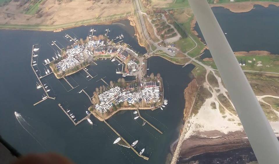 Luftfoto af havnen 17-11-2018 (Kim Frederiksen)