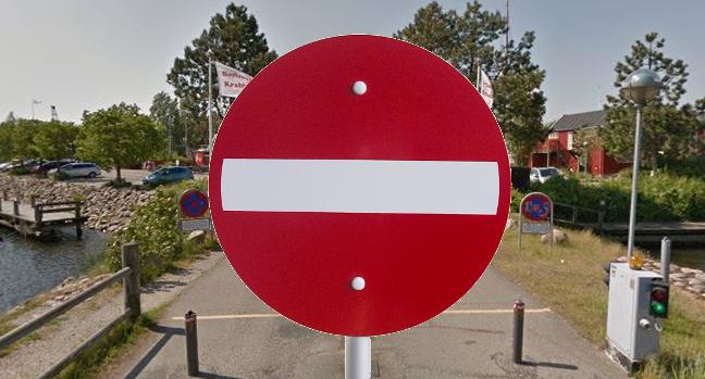 Skiltning_3_Havnen3_indkørselsforbud