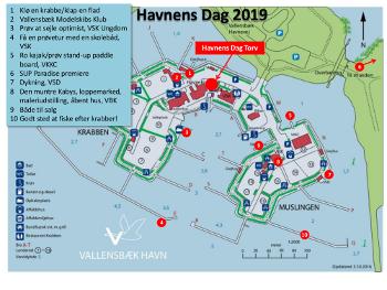 Havnens Dag kort med nr 2019_W350px